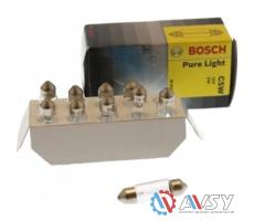 Лампа PURE LIGHT C5W 12V 5W (картон) (10 шт)